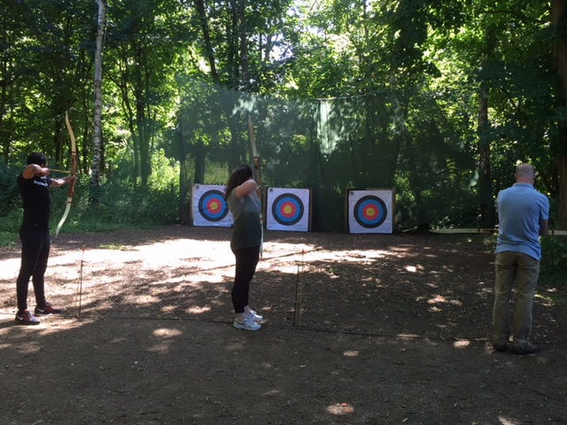 BPG Archery at High Ashurst Outdoor Learning & Development Centre