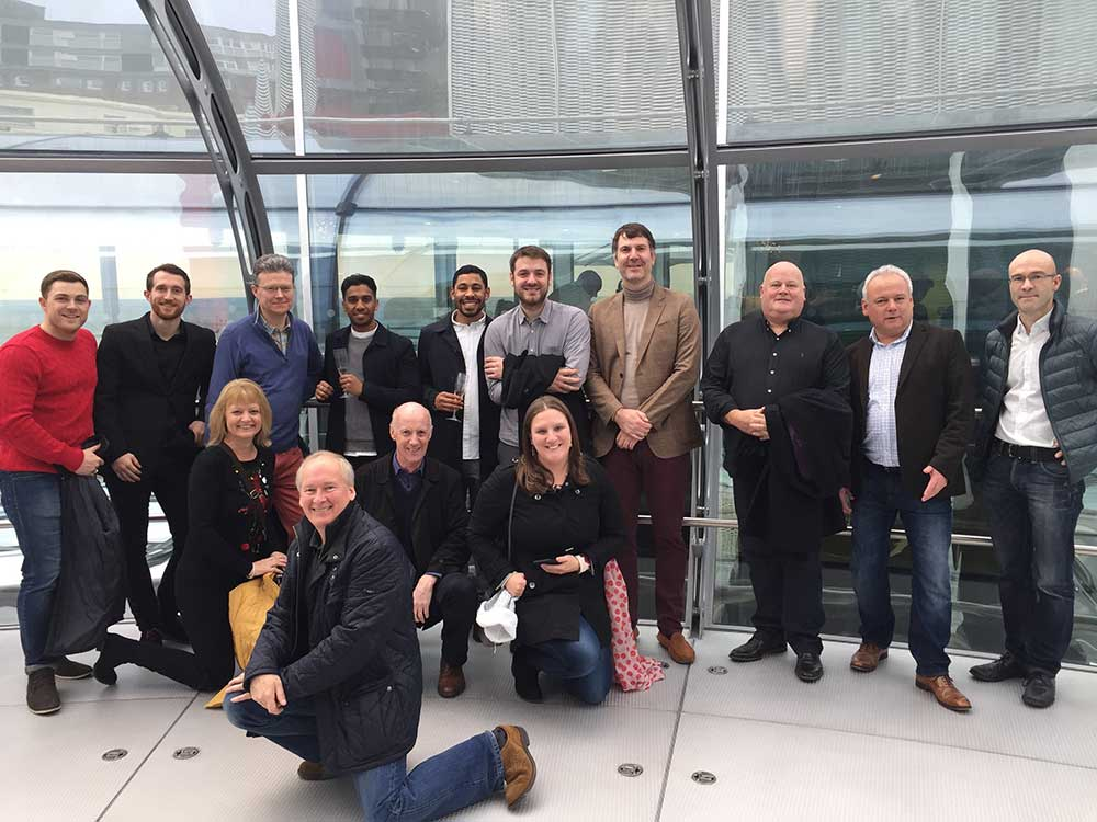 BPG celebrated Christmas this year with a day out in Brighton; a Champagne 'flight' on the British Airways i360 followed by lunch.